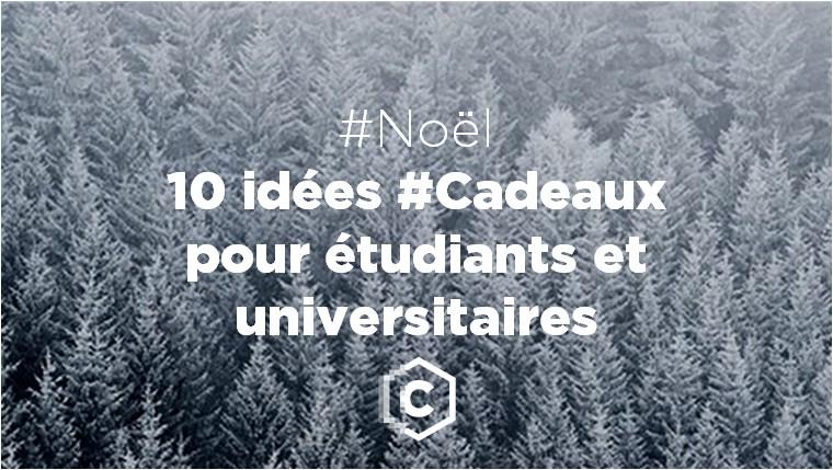 Idée Cadeau éTudiant Noël 2015 : 10 idées cadeaux pour étudiants et universitaires