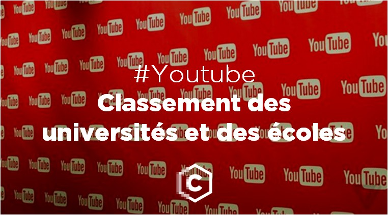 premier classement des universités et grandes écoles françaises sur Youtube