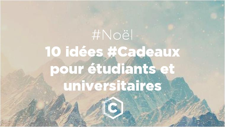 Idée Cadeau éTudiant Noël 2016 : 10 idées cadeaux pour étudiants et universitaires.