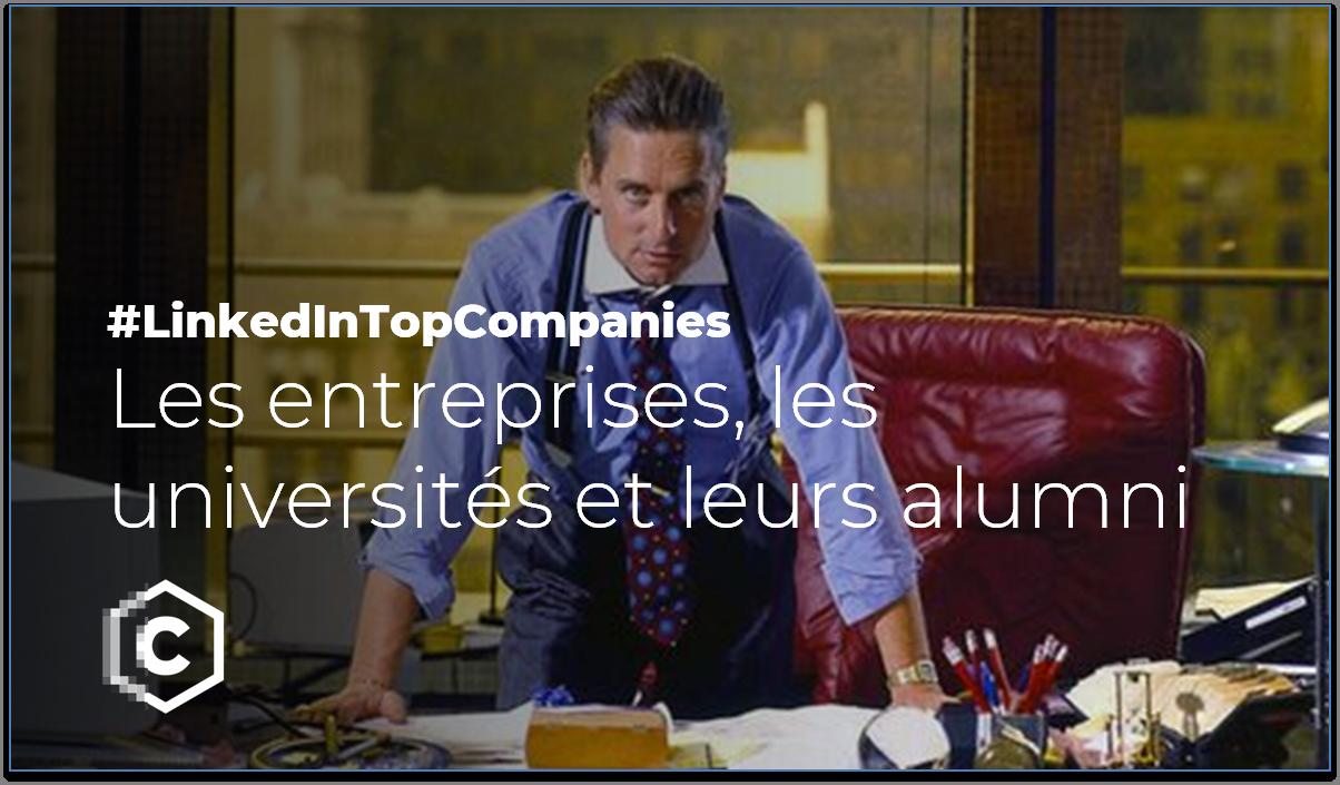 LinkedIn - classement alumni entreprise