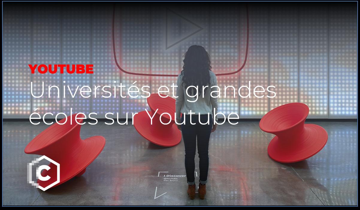 universités et grandes écoles sur Youtube 2020